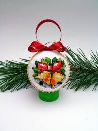 Бродирана Коледна топка
