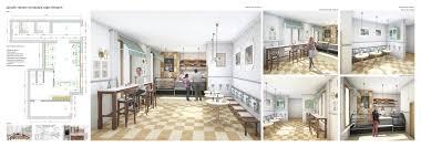 Дипломы Дизайн Фотогалерея СХУ им И Д Шадра Хлоповских П М Дизайн проект интерьера кафе пекарни рук