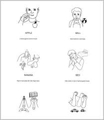 Baby Sign Language Chart Baby Sign Language Charts 5 Free Pdf Documents Download