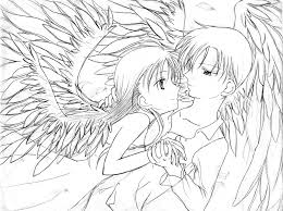 Small Picture Luxury Anime Couple Coloring Pages 12 With Additional Gallery