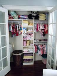nursery closet ideas baby clothes organizing