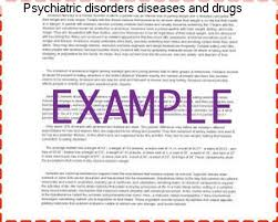 psychiatric disorders diseases and drugs essays essay help psychiatric disorders diseases and drugs essays below is an essay on psychiatric disorders from anti