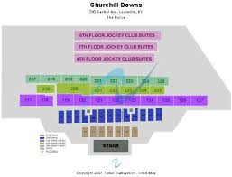 Churchill Downs Tickets And Churchill Downs Seating Chart