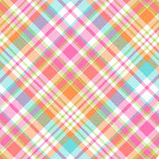 Plaid Pattern Interesting Carrot Criss Cross Plaid Pattern Vinyl And Heat Transfer Vinyl