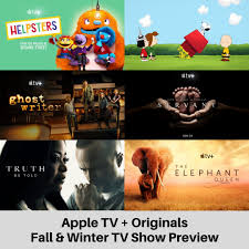 Preview of the new shows that will stream on November 1st on Apple TV +  plus other shows coming soon #AppleTVPlus #Trailers #SnoopyinSpace  #Ghostwriter #Helpsters #ElephantQueen #Servant