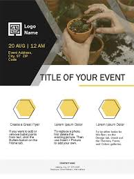 Create Business Flyer Small Business Flyer Gold Design
