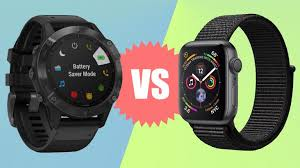 Garmin Wearable Comparison Chart Garmin Fenix 6 Pro Vs Apple Watch Series 5 Which Is The