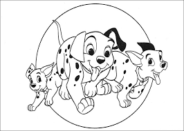 Small Picture 101 Dalmatians coloring pages 2 Free Printables