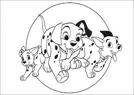 101 dalmatians coloring pages 2
