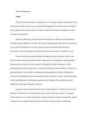 behavior modification paper behavior modification paper  2 pages paper 1