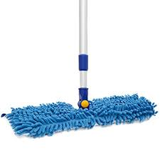 jinclean 18 microfiber floor mop dual side diffe action dust mop dry to attract