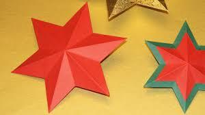 Stern Falten 30 Quadrate Weihnachtssterne Schnell Und