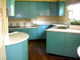 1950u0027s Mid Century Aqua Steel Kitchen Cabinets For Sale. Made By Geneva.  Tell Me