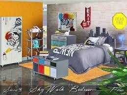 skywalk bedroom on urban wall art sims 4 with pilar s skywalk bedroom