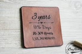 leather gifts for 3rd anniversary 3 year wedding anniversary t ideas for her leather gifts for