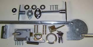 fixing garage doorHelp please Manual garage door lock broken no other access
