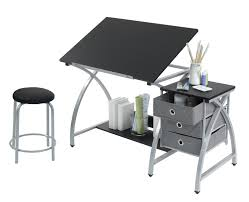 Studio Designs Eclipse Craft Center In Black Black 13365 Top 10 Best Drafting Table Reviews Your Perfect One 2020
