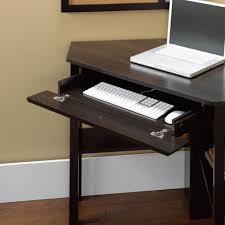 computer desk with keyboard tray zipcode design gerardo corner computer desk with keyboard tray zipcode design gerardo corner writing desk