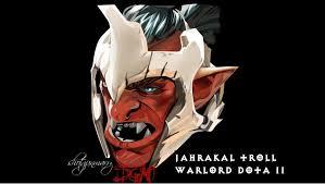 jahrakal troll warlord dota ii by shotgunmarry on deviantart