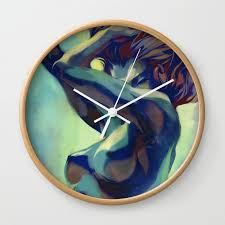 pepper motion wall clock