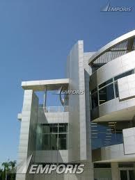 christ cathedral cultural center sculptural facade exterior photo