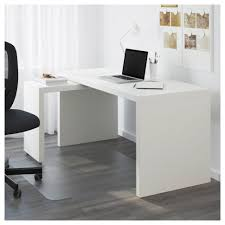 white desk. Desk:Burkesville Home Office Desk Cheap Simple White Student With Drawers Computer