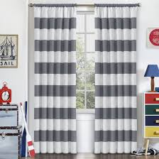 Striped Bedroom Curtains Striped Curtains Drapes Youll Love Wayfair