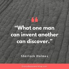 40 Sherlock Holmes Quotes About Mystery Everyday Power Inspiration Sherlock Holmes Quotes