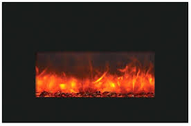 full size of classicflame 36 in black electric fireplace insert 27 real flame 2365 the noble