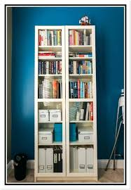 bookcase with doors ikea billy