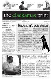 Vol43Issue19 by The Clackamas Print - issuu