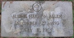Alline Harmon Allen (1893-1968) - Find A Grave Memorial