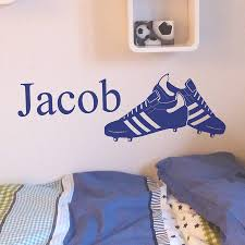 Small Picture personalised football boots wall sticker by nutmeg
