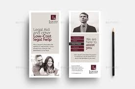 Law Firm Brochure Awesome Law Firm Rack Card Template By BrandPacks GraphicRiver