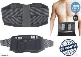 Neoprene Lumbar Lower Back Support Belt Brace *L \u2013 The Hazen Clinic