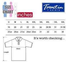 Pluss Size Chart India Buy Polo T Shirts Collar T Shirts Online India
