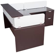 modern office reception furniture. Amazing Office Reception Table Design 3734 New Modern Desk With Counter And Dividing Panels Ideas Furniture
