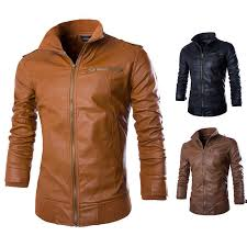 boussac men s motorcycle jacket leisure warm coat leather jacket mens winter coats er jacket leather jacket from roberr 77 87 dhgate com