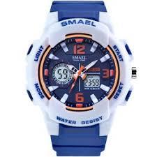 SMAEL Sport Watches for Men Waterproof Digital Watch LED ... - Vova