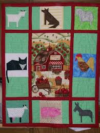 96 best Quilt Ideas - Farm Animals images on Pinterest | DIY, Book ... & A Quilt for Syrus Adamdwight.com