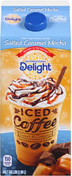 You can taste the chocolaty goodness in every smooth sip of international delight mocha iced coffee. International Delight Salted Caramel Mocha Iced Coffee 0 5 Gal Nutrition Information Innit