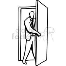 enter open man walk door doors clip art people occupations occupation professional profession pro work worker
