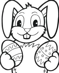 Crayola Coloring Pages Easter Bunny And Eggs Page Cute With Egg Of