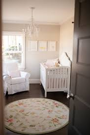 Room  Traditional Girl's Nursery ...