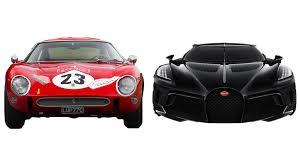 รถยนต์ที่มีราคาแพงที่สุดในโลกbugatti la voiture noire ราคา 18.9 ล้านดอลลาร์สหรัฐฯ. 1962 Ferrari 250 Gto Vs 2019 Bugatti La Voiture Noire Which Is Best Robb Report