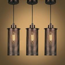 black industrial pendant light black vintage industrial pendant lights retro lamp iron lampshade loft metal cage black industrial pendant light