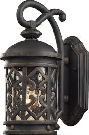 tuscany lighting. Vintage Elk Lighting 42060/1 Tuscany Coast Exterior Wall Sconce Design For  Outdoor Wall Sconce Lighting Fixtures Tuscany