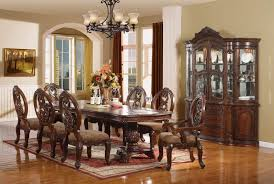 dining room traditional dining room table luxury dining table set black formal dining room set