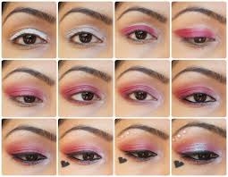 eye makeup tutorial valentine s day special pink love