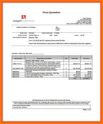 Sample Quotations.quotations Sample Sales Price Quotation Template ...